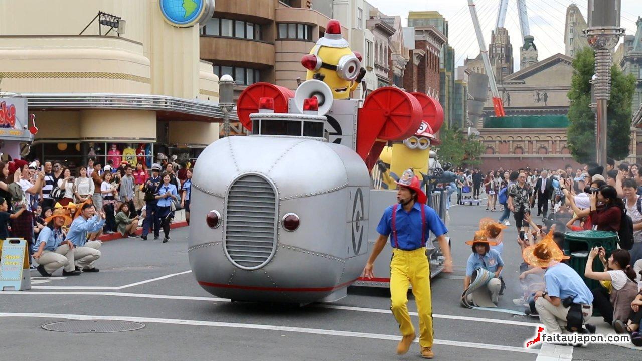 Universal Studio Japan Osaka Attractions Fait Au Japon