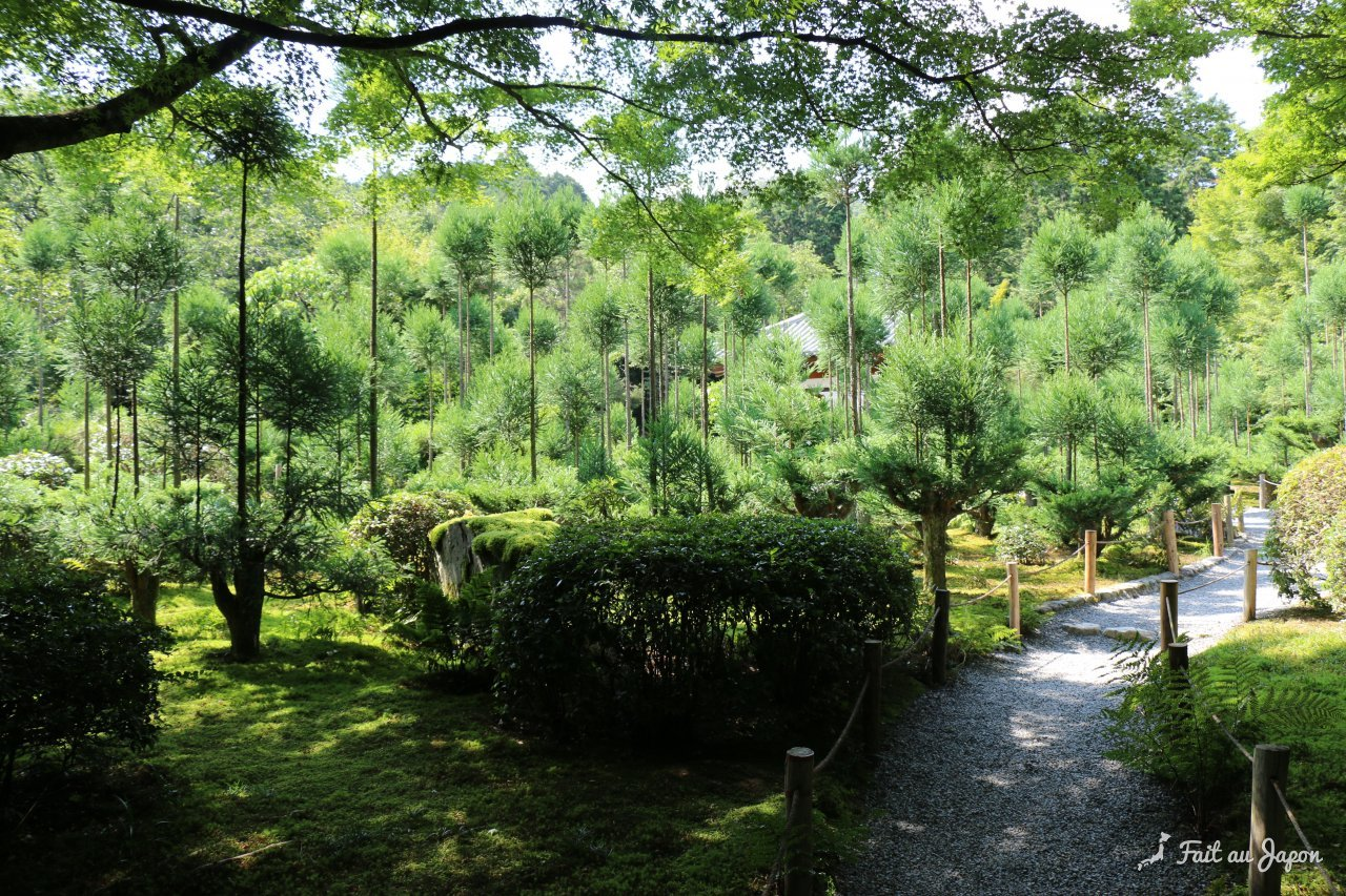 Temple ry an ji jardin zen avec 5 lots de 15 pierres for Jardin kyoto