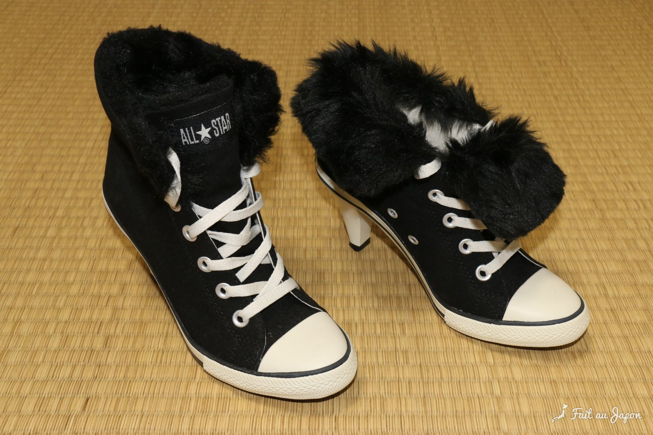 Converse high heels exclusivity of Japan コンバース